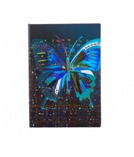Agenda Goldbuch A5 cu efect special Fluturele floare