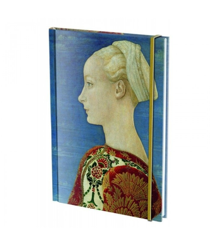 Agenda A5 banda elastica Portretul unei domnisoare, A.del Pollaiuolo