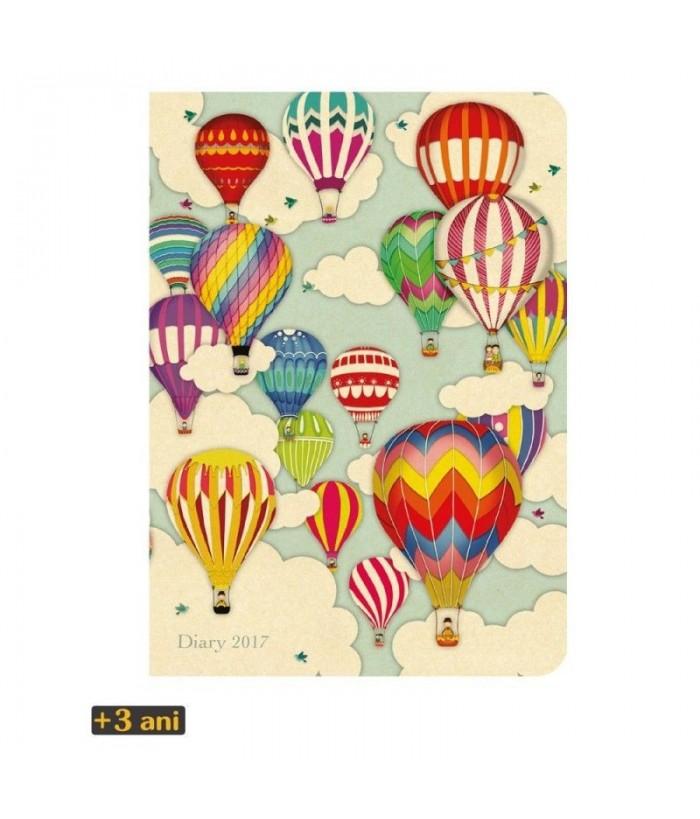 Agenda datata 2017 Hot Air Balloons de la Santoro