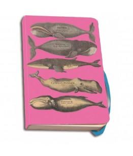 Carnet notite 112 pagini Walvissen Roze, Scheepvaartmuseum