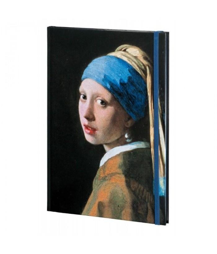 Agenda A6 144 pagini Meisje met de parel, Johannes Vermeer