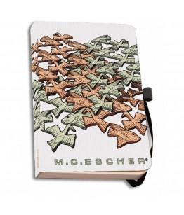 Agenda coperti textile A6 Intersecting Planes, M.C. Escher