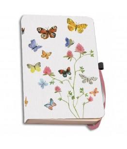 Agenda coperti textile A5 Flowers, Butterflies and Birds, Alice Appleton