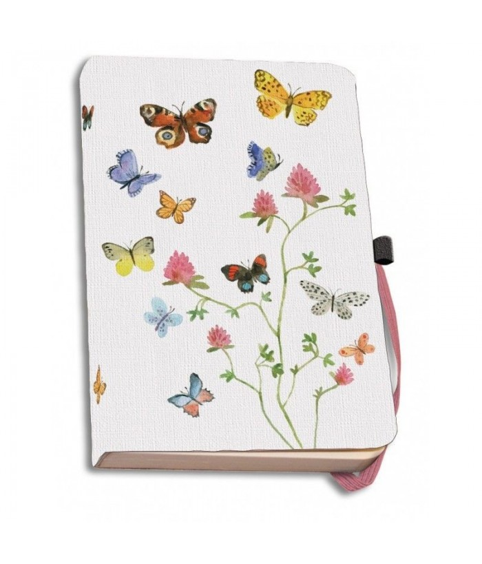 Agenda coperti textile A5 Flowers, Butterflies and Birds, Alice Appleton