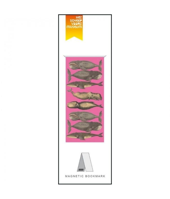Semn carte magn. Walvissen Roze, Scheepvaartmuseum
