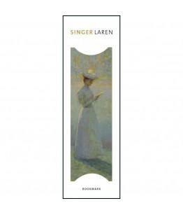 Semn de carte Jeune femme lisant, Henri Le Sidaner, Singer, Laren