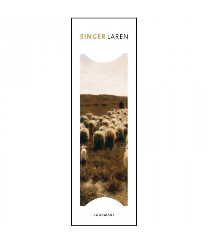 Semn de carte De terugkeer van de kudde, Laren, Anton Mauve, Singer