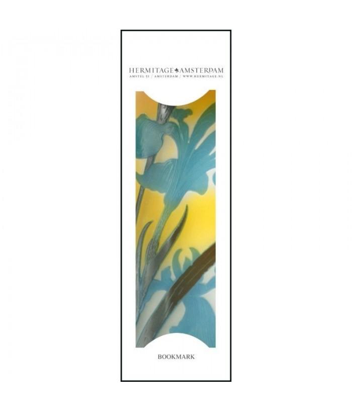 Semn de carte Detail of Vase with a lak landscape, Emile Galle