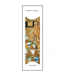 Semn de carte Awaiting (detail), Gustav Klimt