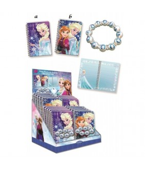 Mini jurnal 3D cu bratara margele Frozen
