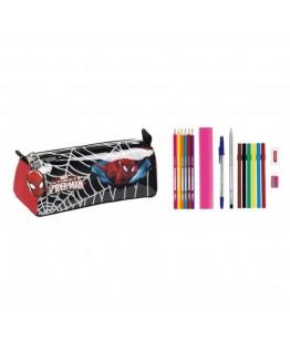 Penar dublu echipat cu 17 piese Spiderman