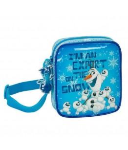 Geanta mica umar OLAF bleu 18x16x4 cm