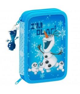 Penar echipat 34 piese OLAF bleu 20.5x13.5x4.5 cm