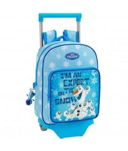 Rucsac-trolley junior OLAF bleu 34x26x11 cm