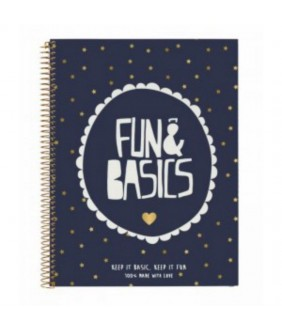 Agenda 120 file Fun  Basics 29.7x21 cm