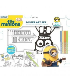 Poster artistic Minions