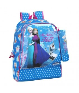 Ghiozdan Anna si Elsa Frozen