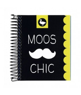 Caiet A7 de 100 de file Moos Chic