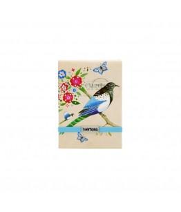 Caiet mic cusut Eclectic Bird Study