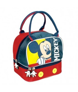 Geanta de pranz cu manere Mickey Mouse