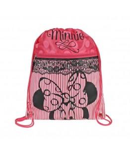 Saculet colectia Minnie Mouse dantela