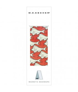 Semn de carte magnetic M.C. Escher Pesti si porumbei