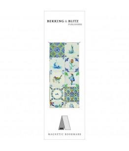 Semn de carte magnetic Dutch Tiles, Boijmans van Beuningen