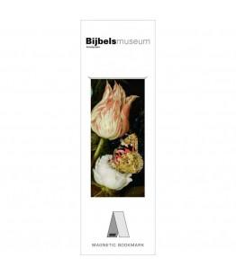 Semn de carte magnetic Flowers, Bosschaert den Oude, Bijbels Museu