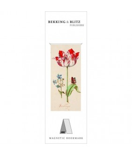 Semn de carte magnetic Two Tulips, Jacob Marrel