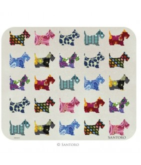 Mousepad Eclectic Scottie Dog