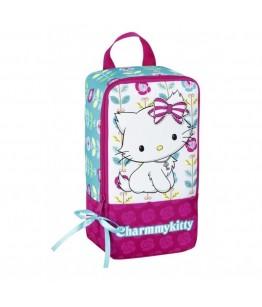 Geanta pentru incaltaminte colectia Charmmy Kitty Flowers 2