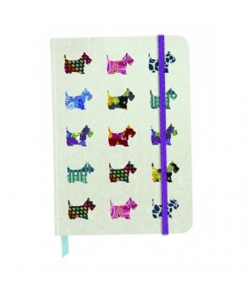 Agenda Eclectic cu coperti tari cartonate Scottie Dogs