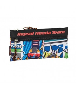 Pouch cu doua fermoare colectia Repsol Honda 2