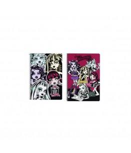 Caiet cu spira A4-80 de file colectia Monster High2