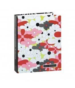 Biblioraft carton cu 4 inele colectia Paola Dominguin