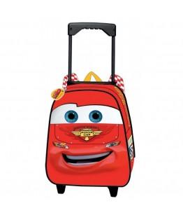 Ghiozdan tip trolley pentru scoala Cars 2