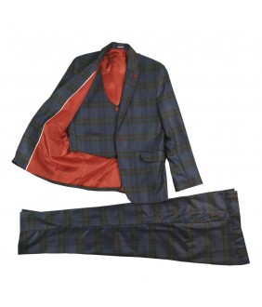 Costum baieti, 3 piese, 8-12 ani, 128-146 cm, JuliaKids, 21897