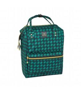 Rucsac fashion laptop Moos Verde 40cm