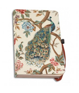 Agenda coperti textile A5 The Magnificent Peacock