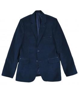 Sacou ocazie baieti Alessandro, elegant/casual, bleumarin, 7-12 ani, 122-152 cm