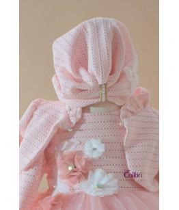 Turban fetita, tricot, 0-2 ani, Colibri, 26919